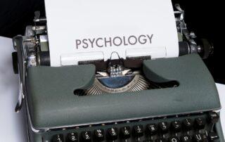 Word psychology on a typewriter